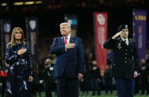 Democrats are Triggered because Trump got a warm welcome at the Clemson vs. Lsu National Championship game
