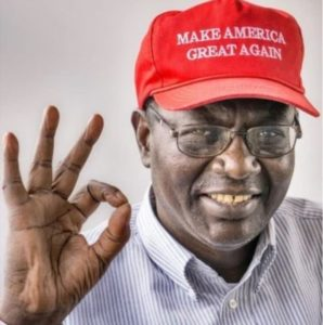 "Malik Obama ""President Trump is the best thing that ever happened to America""."