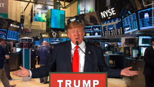 "President Trump says there will be a stock market crash ""Like you never seen before"" If he loses the 2020 election."
