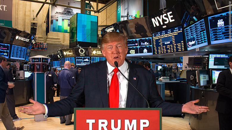 """President Trump says there will be a stock market crash """"Like you never seen before"""" If he loses the 2020 election."""