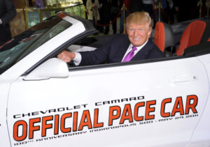 President Trump may be attending the Indy 500 and/or Coca-Cola 600, Reports says