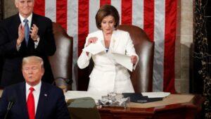 Nancy Pelosi wants video of her shredding Trump speech removed