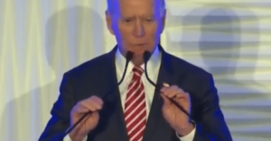 Video: Joe Biden forgets he's running for President tells people to vote for the other Biden