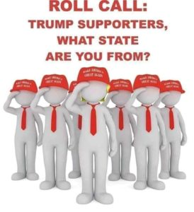 Poll: Trump Supporters what state are you from?