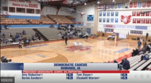 Iowa Democratic caucus Dubuque only 217 in the city of 53k showed up to caucus