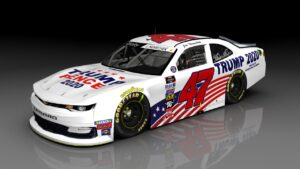 Joe Nemechek to run Trump 2020 scheme at Nascar 300 at Daytona International Speedway