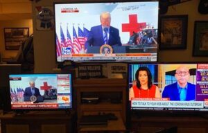 CNN refuses to televise President Trump's speech from the USNS Comfort