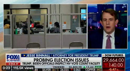 Watch: Trump lawyers claim over 40,000 Nevadans voted twice in new lawsuit