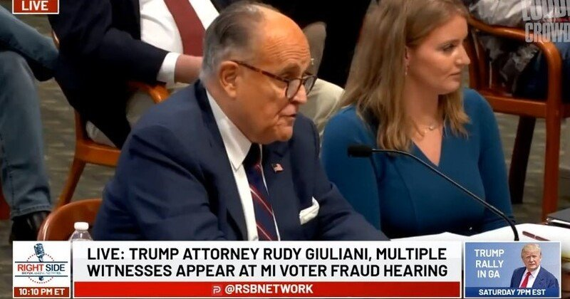 """STEVEN CROWDER SHARES EPIC CLIP: """"THE MOMENT RUDY GIULIANI WENT THUG LIFE ON A MICHIGAN DEMOCRAT"""