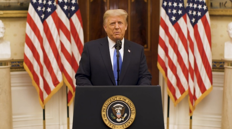President Trump Releases Touching Farewell Message To The American People