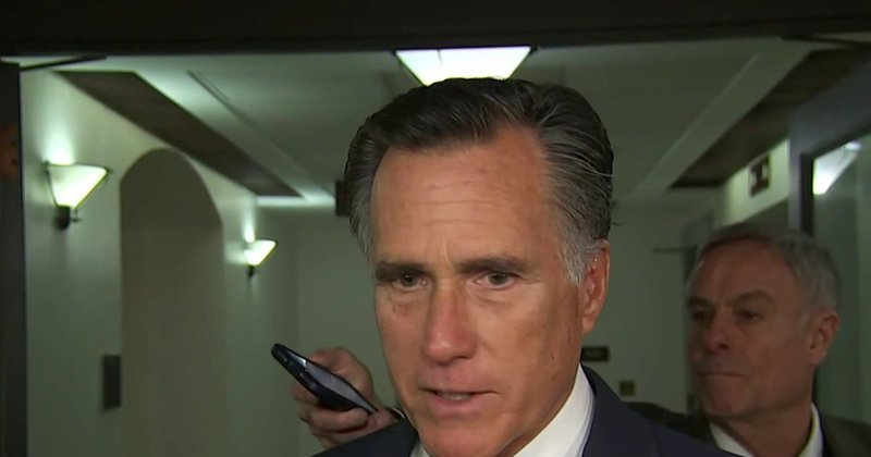 """MITT ROMNEY ADMITS TRUMP WOULD WIN 2024 REPUBLICAN NOMINATION """"IN A LANDSLIDE"""" IF HE RAN AGAIN"""