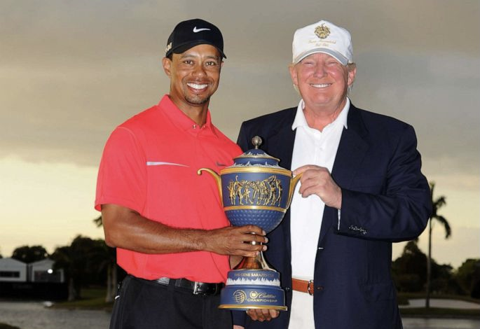 """Trump """"Get well soon, Tiger. You are a true champion!"""""""