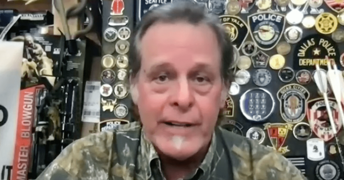 """WATCH: Ted Nugent calls Biden a """"traitor"""" says Real America is """"pissed off"""" at him"""