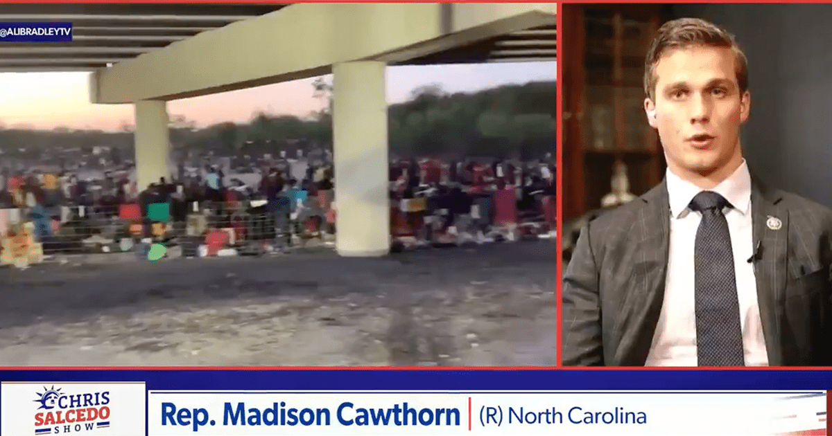 """Watch: Rep. Cawthorn says """"it's easier to get across our Southern Border than it is to get into a NY restaurant"""""""